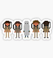 Stranger Things boys + Eleven Sticker