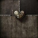 Rusty Steampunk Heart by Melanie Moor