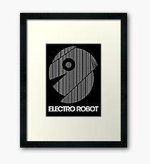 Electro Robot Framed Print