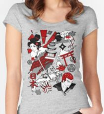 Japanfluence Women's Fitted Scoop T-Shirt