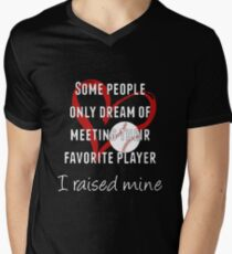 Inspirational Baseball/Softball Mom Gifts - I Raised Mine - Best Cute Gift for Her, Mom, Women, Best Friend, Wife, Daughter or Sister T-Shirt