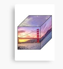 Golden Hour on the Golden Gate Canvas Print