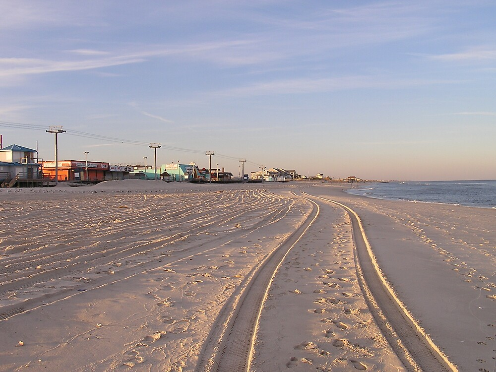 Beach Tracks by tbetts