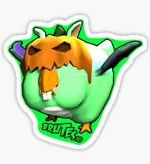Brutes.io (Chibkin Green) Sticker