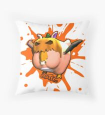 Brutes.io (Chibkin Orange) Throw Pillow
