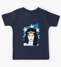 Princess Warrior from the Amazon Kids Tee