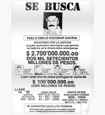 Pablo Escobar wollte Poster Poster