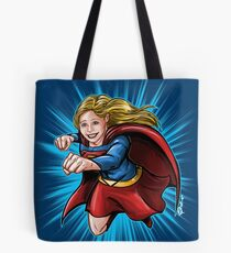 A Super Heroine Tote Bag