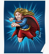 A Super Heroine Poster
