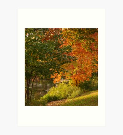Riverway Art Print