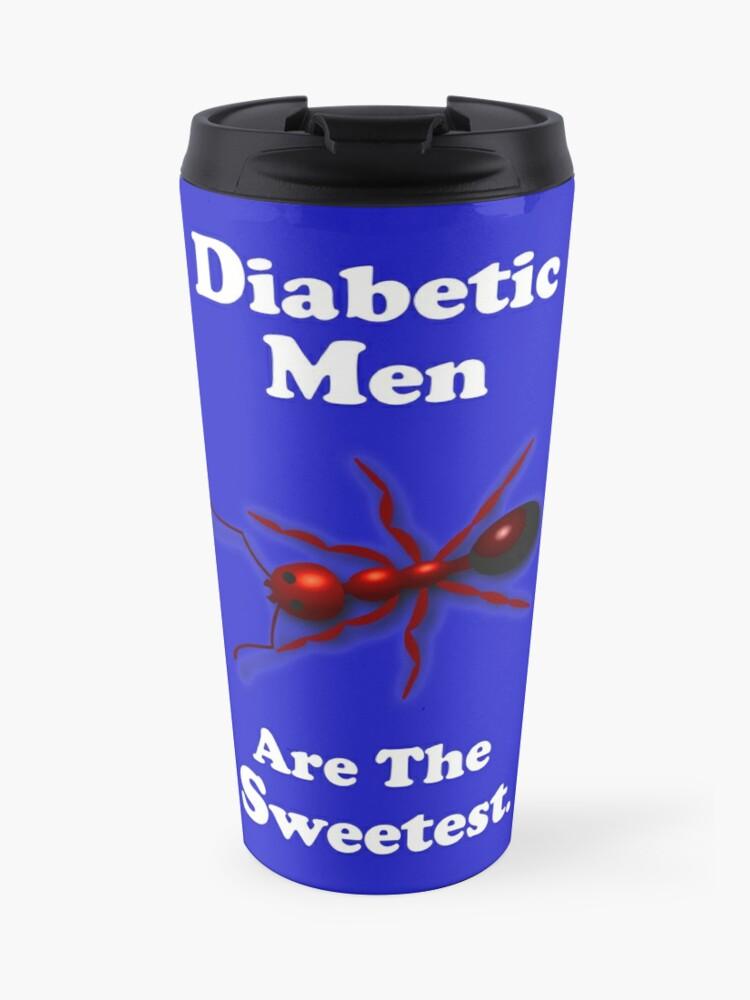 Diabetes Awareness Month Diabetic Men Gift Ideas Collection Travel Mug