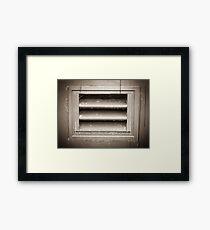 Metal Vent Grill Framed Print