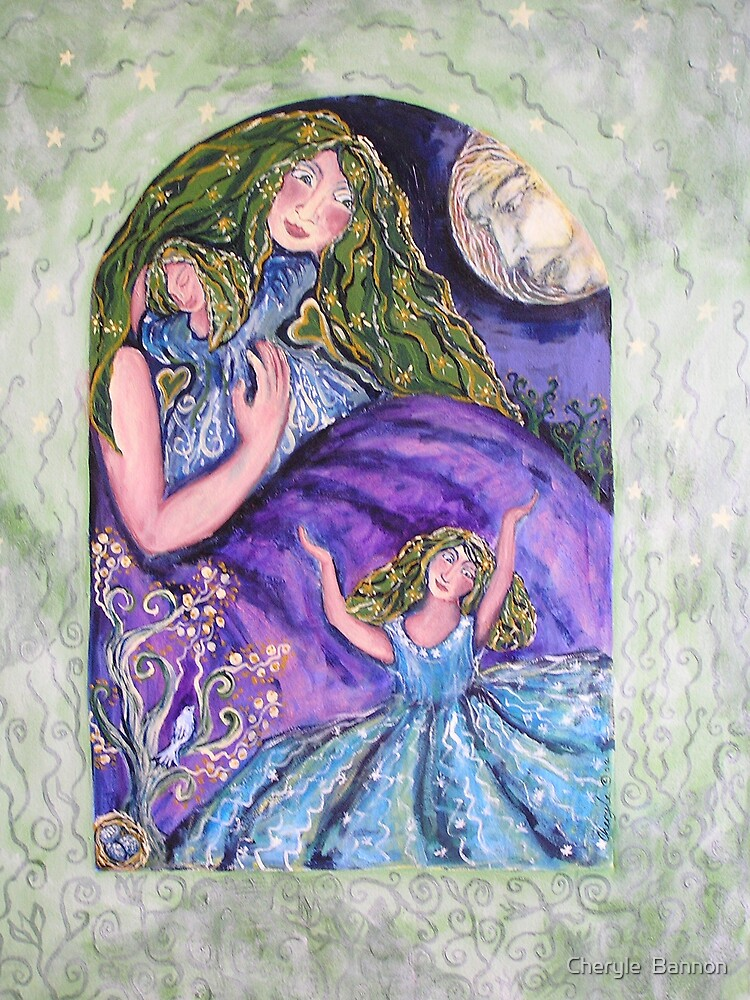 Grandmother Moon by Cheryle  Bannon