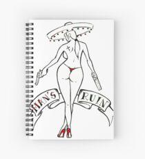 Bad Chick Spiral Notebook