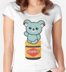 Vegemite Koala Women's Fitted Scoop T-Shirt