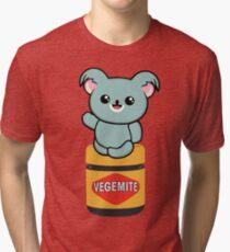 Vegemite Koala Tri-blend T-Shirt