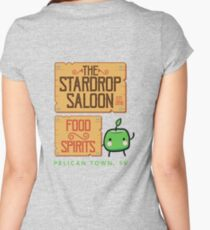 Stardrop Saloon Women's Fitted Scoop T-Shirt