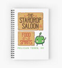 Stardrop Saloon Spiral Notebook