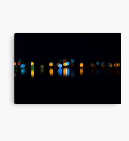 A Little Night Bokeh Canvas Print