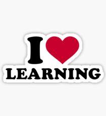 I love learning Sticker