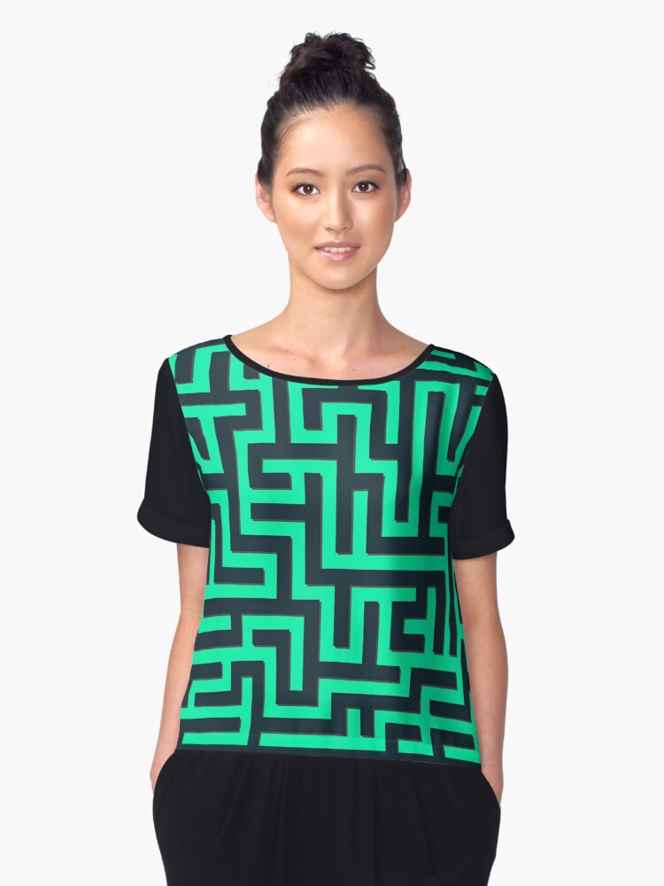 Find Your Way... Women's Chiffon Top Front