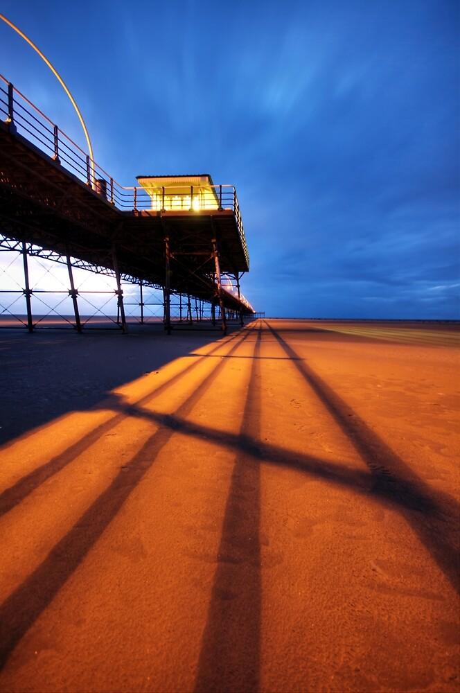 Crossing the line by Glen Birkbeck