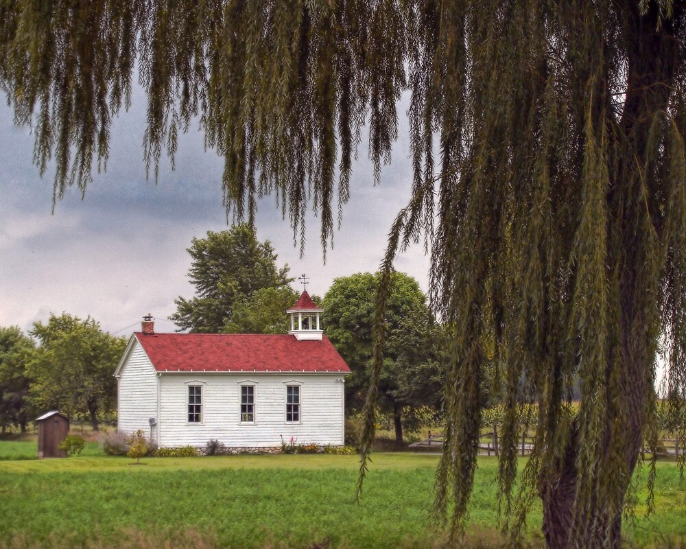 Old Schoolhouse by Terry Doyle