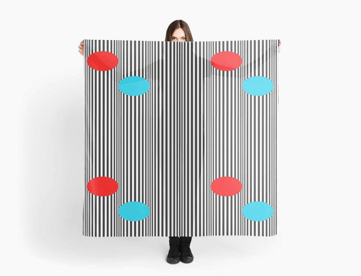 Verticle Stripes w/ a Splash of Colour  by Shh op!