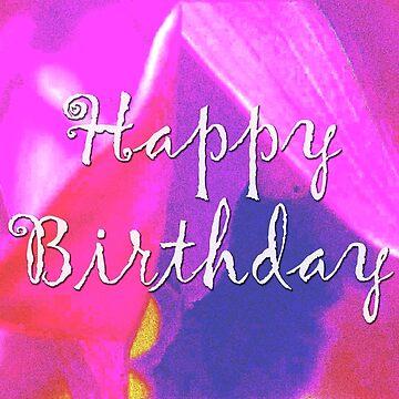 Birthday Flower by blakcirclegirl