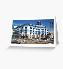 Blue hotel at Oakland  Greeting Card
