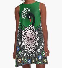 Peacock 5 A-Line Dress