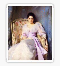 Vintage John Singer Sargent Lady in Chair 1892  Fine Art Sticker