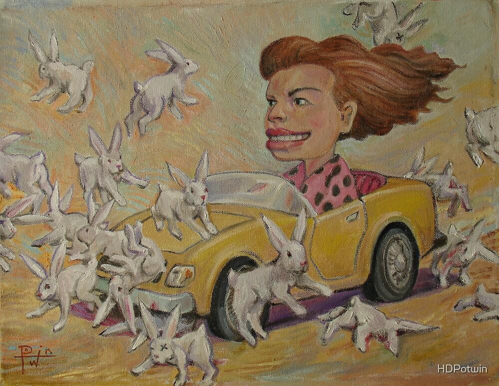 Bunny Bashing #2 by HDPotwin