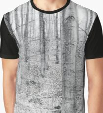 Forest Study Graphic T-Shirt