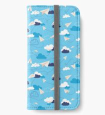 Paper Airplanes iPhone Wallet