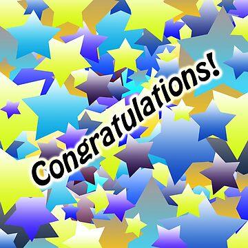 Congratulation Stars by blakcirclegirl