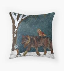 Winter Journey Throw Pillow