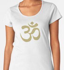 om symbol Women's Premium T-Shirt