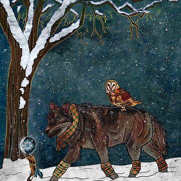 Winter Journey by f-rizzato-art