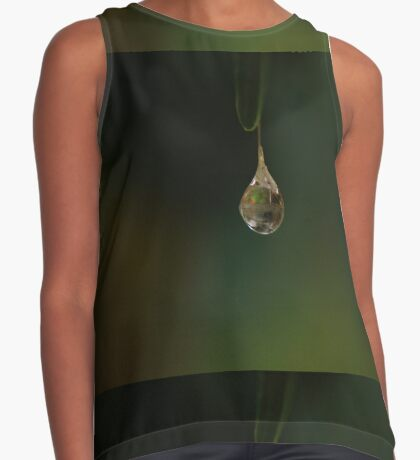 hanging by a thread Contrast Tank