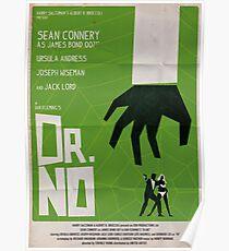 Green Dr No Poster
