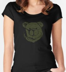 ROBUST BEAR CODE Women's Fitted Scoop T-Shirt
