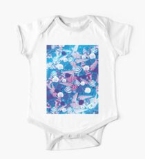 Seashells In Ocean Pattern Kids Clothes