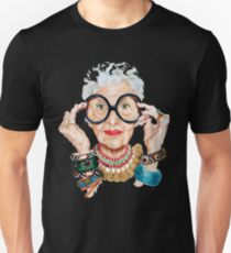 i0ris0 apfel - sometimes brewing and dairying, and bearing and rearing children. She was  Unisex T-Shirt