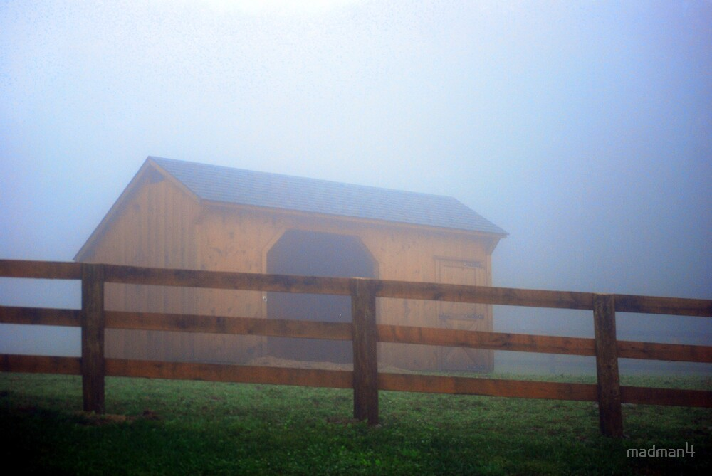 Foggy Stable by madman4