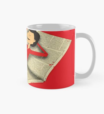 Relax with a book Mug