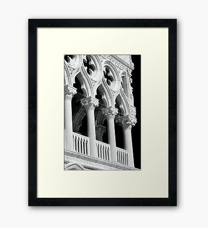 Arches - Venice Framed Print