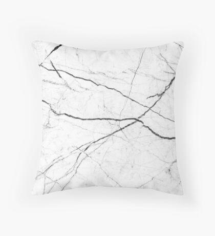 Mármol abstracto blanco textura Cojín de suelo