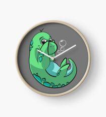 Cute Nessie monster Clock