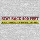 Stay Back! by randomdumping